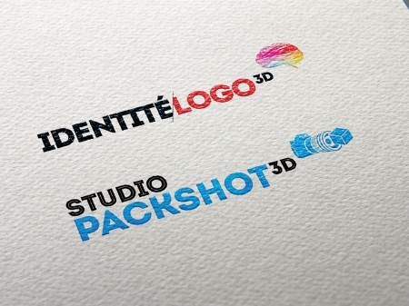 studio packshot 3D